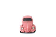 Voiture modèle rose, jouet Photographie stock