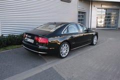 Voiture moderne : Audi A8 Photo libre de droits