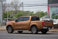 Voiture privée de collecte, Nissan Navara Image stock