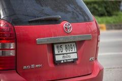 Voiture privée de MPV, souhait de Toyota photographie stock