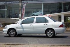 Voiture privée, Mitsubishi Lancer Images stock