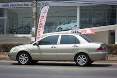 Voiture privée, Mitsubishi Lancer Images libres de droits