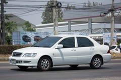 Voiture privée, Mitsubishi Lancer Photo stock