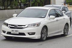 Voiture privée toute la nouvelle Honda Accord 2016 Images libres de droits