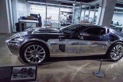 Voiture 2005 réfléchie de concept de Ford Shelby GR-1 images libres de droits