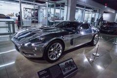 Voiture 2005 réfléchie de concept de Ford Shelby GR-1 photos libres de droits