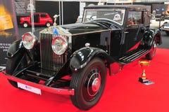 Voiture reconstituée par Royce Phantom de Rolls Image stock
