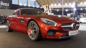Voiture superbe Photographie stock