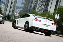 Voiture superbe de Nissan GT-R photos stock