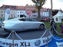 Voiture Volkswagen du concept XL1 Photographie stock libre de droits
