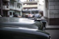 Voitures américaines au Cuba Images libres de droits