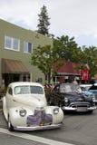Voitures américaines de vintage au Car Show Images libres de droits
