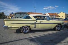 Voitures américaines classiques, Chevrolet Impala Photographie stock libre de droits