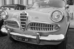 Voitures classiques de vintage Photographie stock libre de droits