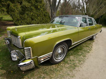 Voitures classiques des USA, Lincoln Continental Photographie stock libre de droits
