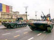 Voitures d'artillerie Images stock
