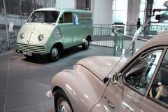 Voitures d'Audi de vintage Photos stock