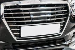 Voitures de butoir et gril de voiture Image libre de droits