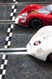 Voitures de course miniature Image libre de droits