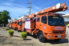 Voitures de puissance mobiles, Thaïlande Photo libre de droits