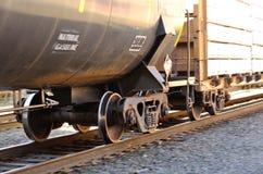 Voitures de rail Images libres de droits