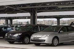 Voitures de Renault photo stock
