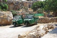Voitures de Rhodes Small photos libres de droits