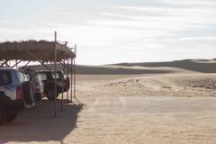 Voitures de safari Images libres de droits