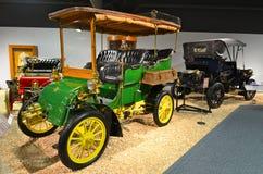 Voitures de vintage dans le musée national d'automobile, Reno, Nevada Photographie stock libre de droits