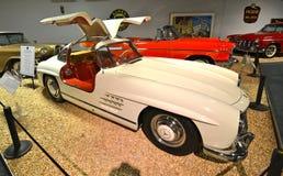 Voitures de vintage dans le musée national d'automobile, Reno, Nevada Image stock