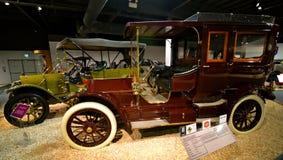 Voitures de vintage dans le musée national d'automobile, Reno, Nevada Images libres de droits