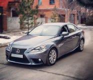 Voitures de voiture de course de route de lexus de Lexus Photographie stock libre de droits