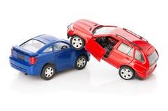 Voitures des accidents deux, cas d'assurance Photographie stock libre de droits