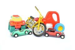 Voitures et motos images stock