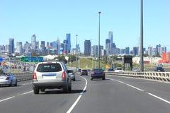 Entraînement de ville Image stock