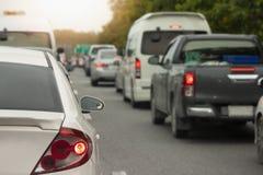Voitures sur le voyage par la route à voyager le temps d'affaires Photo stock