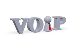Voix au-dessus d'IP Photos stock