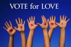 Voix pour l'amour Image libre de droits