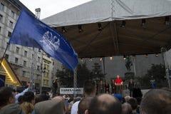 Vojislav Seselj speech Royalty Free Stock Photo