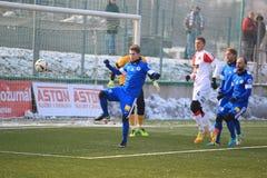 Vojtech Novotny - football Royalty Free Stock Photos
