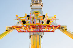 Voksfest attraction. High Energy Attraction installed in Wurzburg during 2013 Killiani Volksfest Royalty Free Stock Image