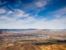 Vol à la région du lac Tahoe Image libre de droits