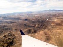 Vol à la région du lac Tahoe Photographie stock