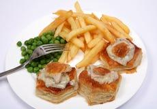 VOL. сброса индюка еды au Стоковые Фотографии RF