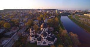 Vol aérien à Vilnius clips vidéos