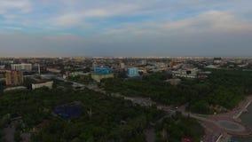 Vol au-dessus de la ville clips vidéos