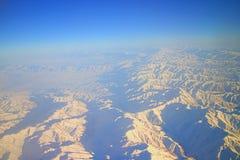Vol au-dessus de Pamir et de Tien Shan 1 Image libre de droits