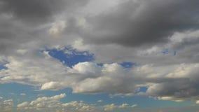 Vol au-dessus des nuages, animation boucle-capable banque de vidéos