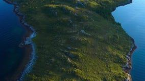 Vol au-dessus du cap de mer banque de vidéos