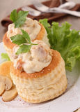 Vol au vent Royalty Free Stock Image